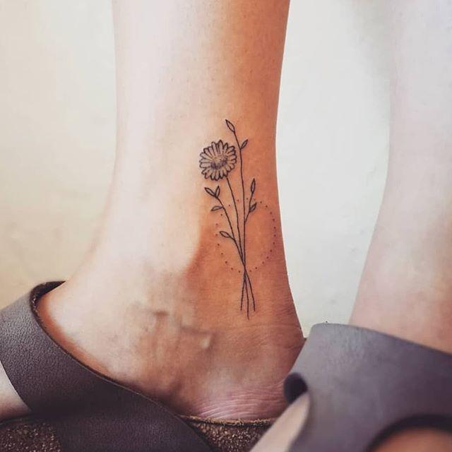 Flower bouquet by elsbeth tattoo