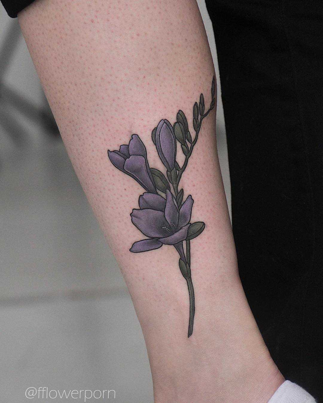 Freesia tattoo