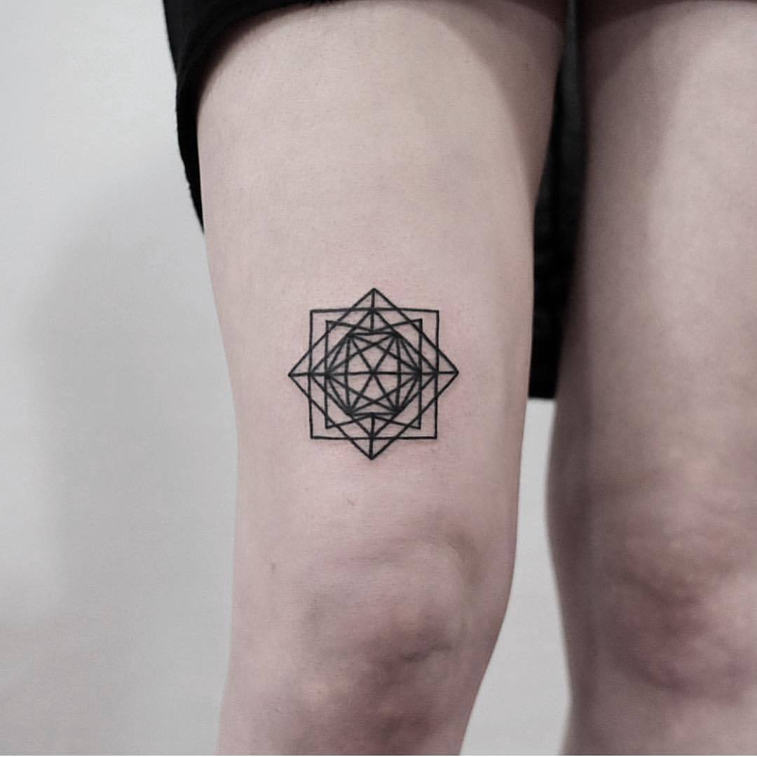 Geometric piece by jonas ribeiro
