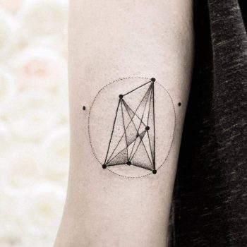 Geometric work by dogma noir