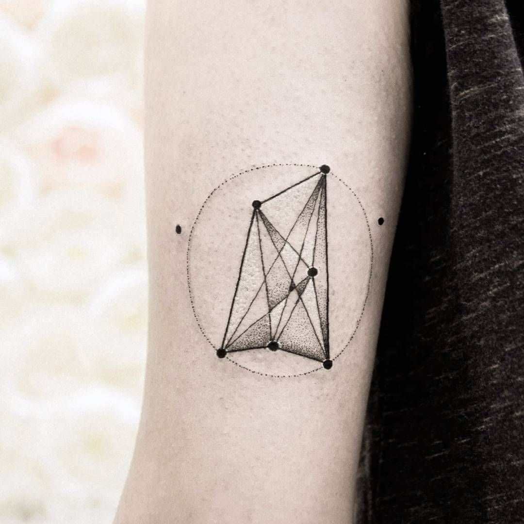 Geometric work by dogma noir