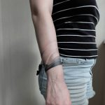 Gradient armband tattoo