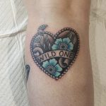 Heart tattoo by brittany kilsby