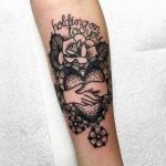 Hold on to you tattoo by roberto euán