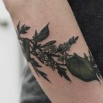 Lime blossom and sagebrush tattoo