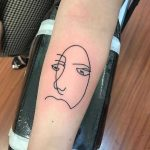 Linear face by joey cassina