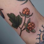 Little cloudberry tattoo