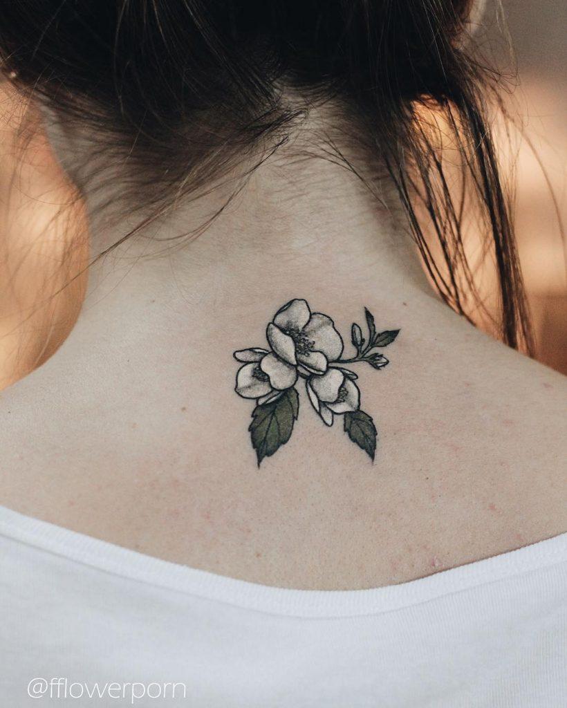 8c548371ff8a2 Little jasmine blossoms tattoo - Tattoogrid.net