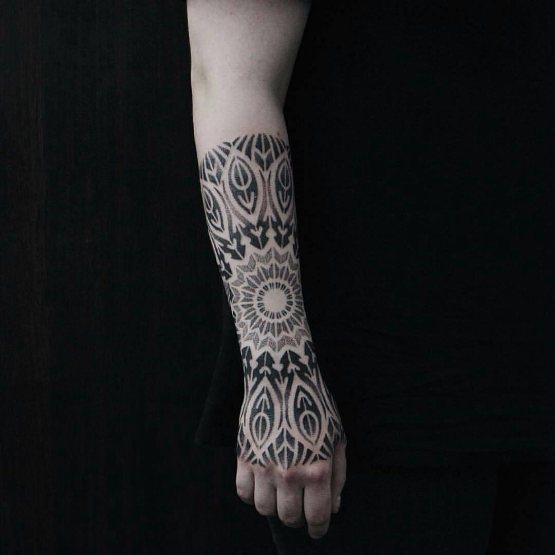 Mandala by blackbird tattoo