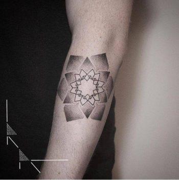 Mandala tattoo by rachainsworth
