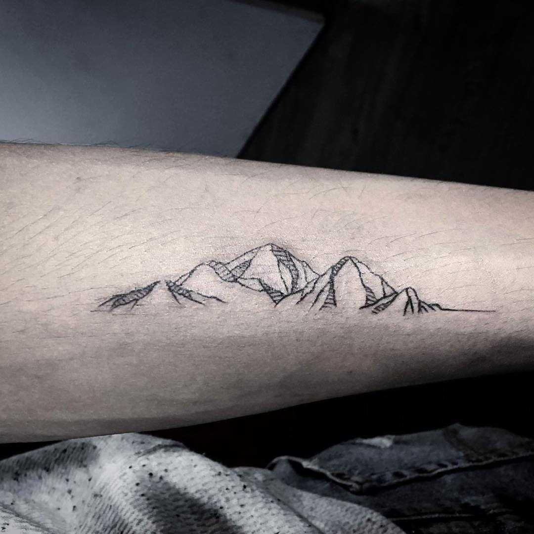 Mountain piece by calvin