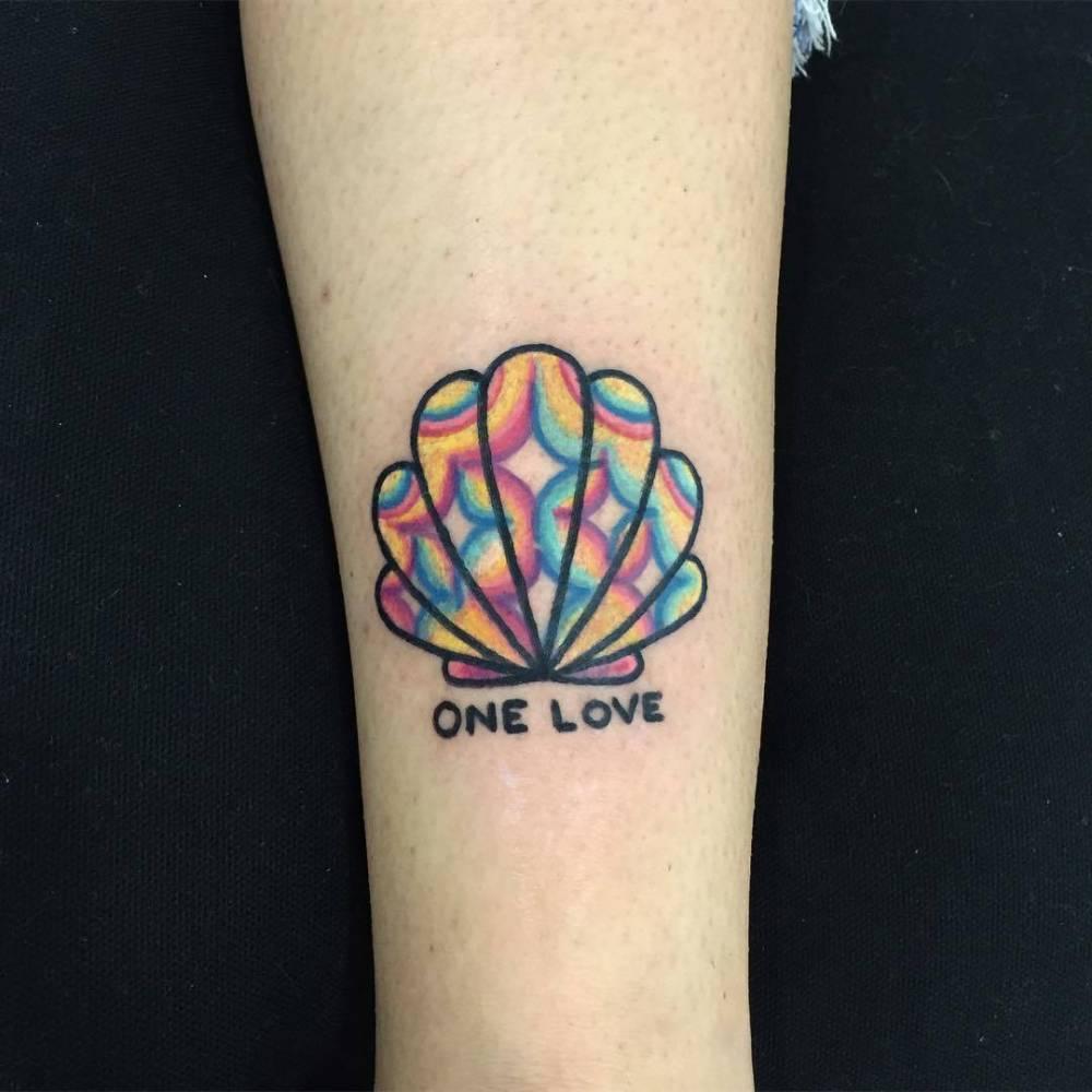 One love tattoo by raro