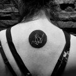 Paper crane tattoo by kyle kyo koko