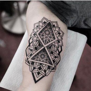 Sacred geometry tattoo by jonas ribeiro