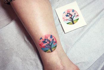 Sakura tattoo by sasha unisex