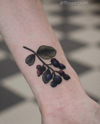 Shadberry tattoo