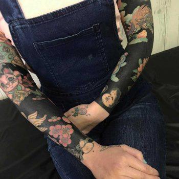 Sleeve tattoos by nissaco