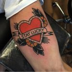 Stay lucky tattoo by kelly smith tattoos