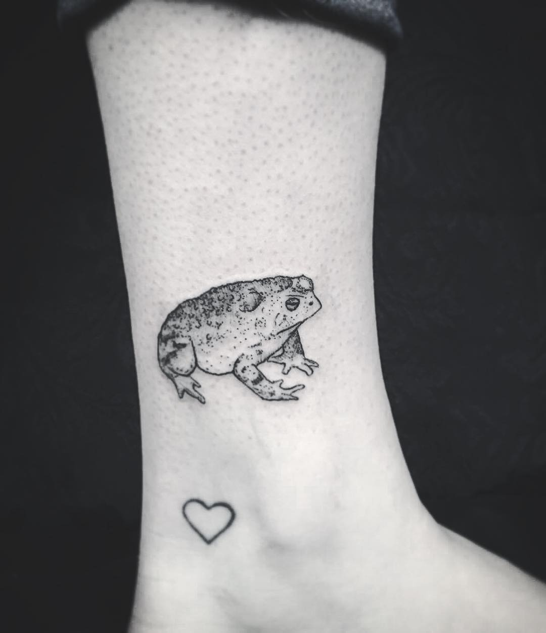 Toad tattoo by kyle kyo koko