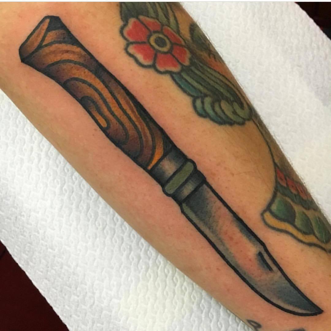 Traditional knife by jeroen van dijk