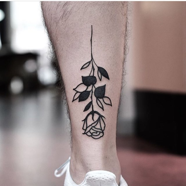 Upside down rose by jonas