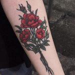 Wild roses tattoo