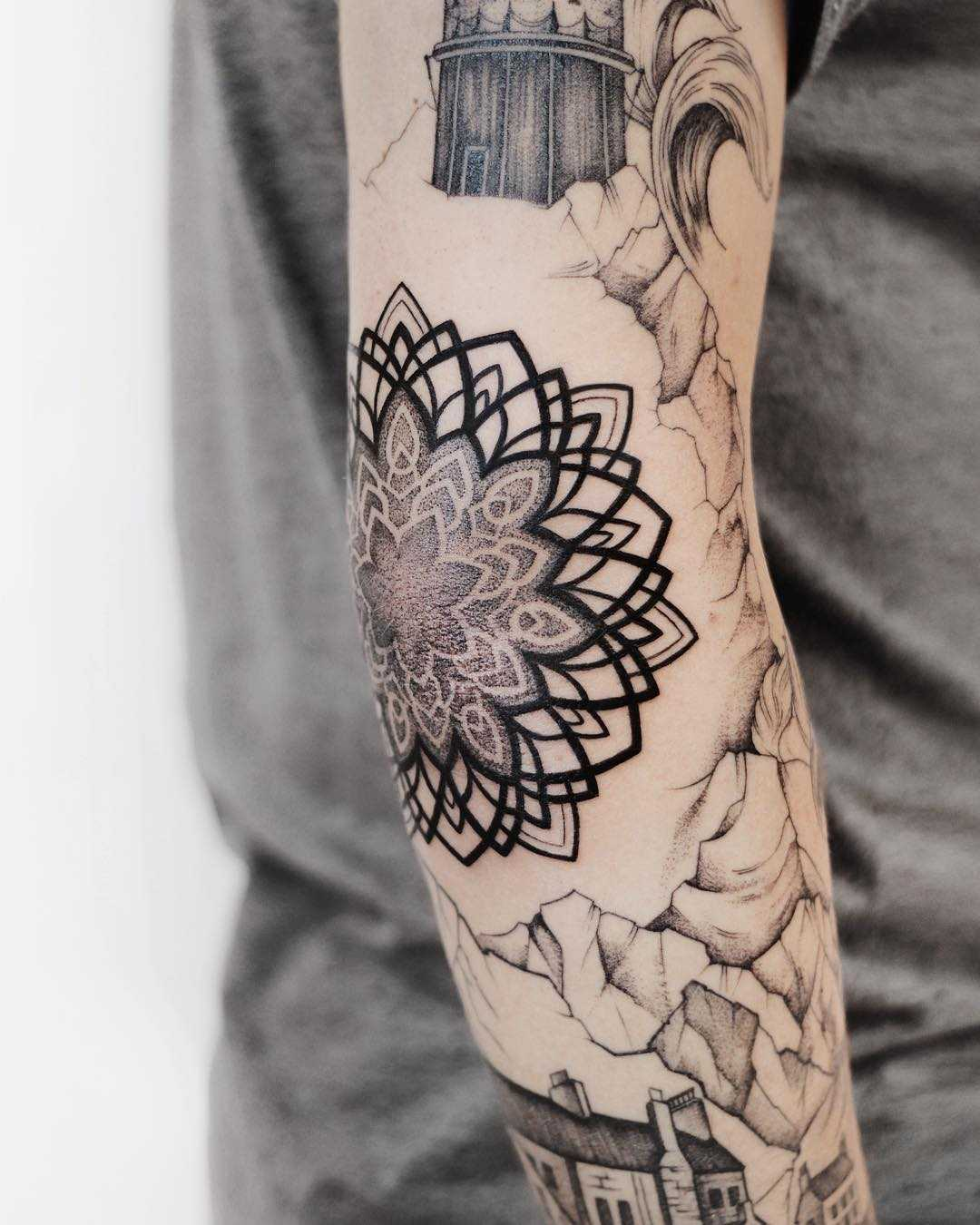 Beautiful arm tattoos