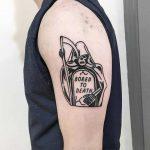 Bored to death by Mr. Preston Tattoo