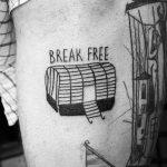Break free tattoo