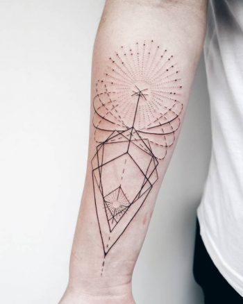 Geometric piece by Emilya