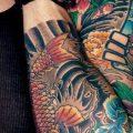 Japanese style john mayer's tattoo