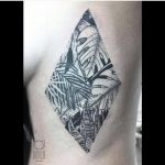 Jungle scenery tattoo by Dorca Borca
