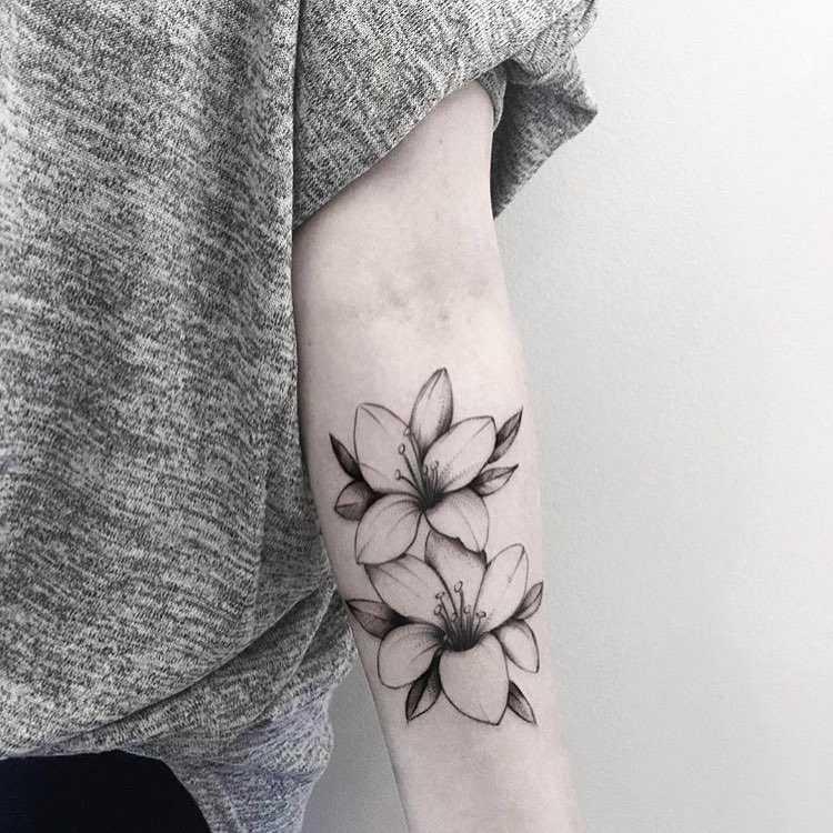 Lilies by Helen Xu