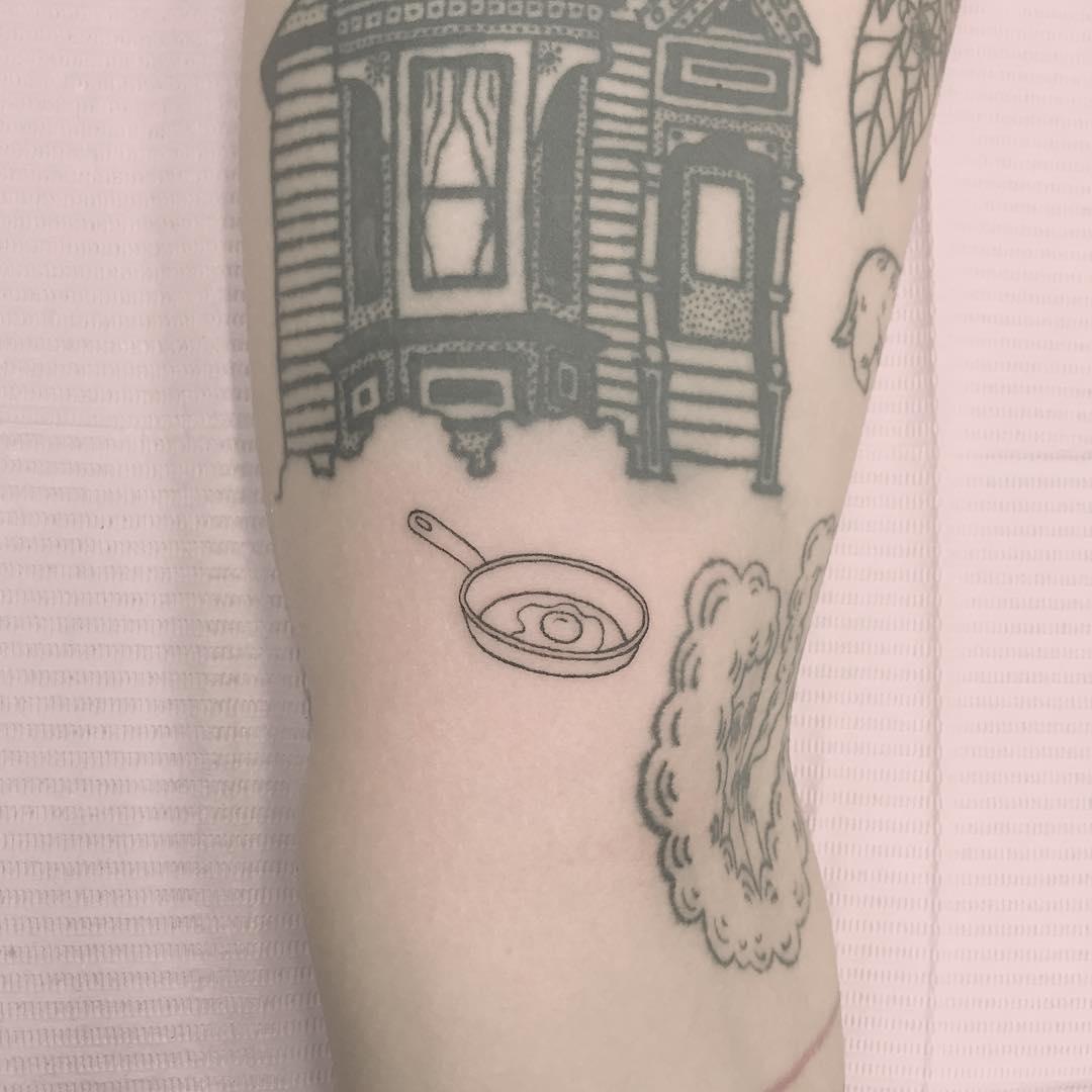 Little pan tattoo