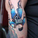 Lost astronaut tattoo