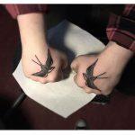 Matching swallows
