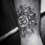 Om mandala tattoo