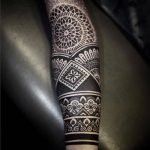 Sleeve tattoo by Alexis Calvie