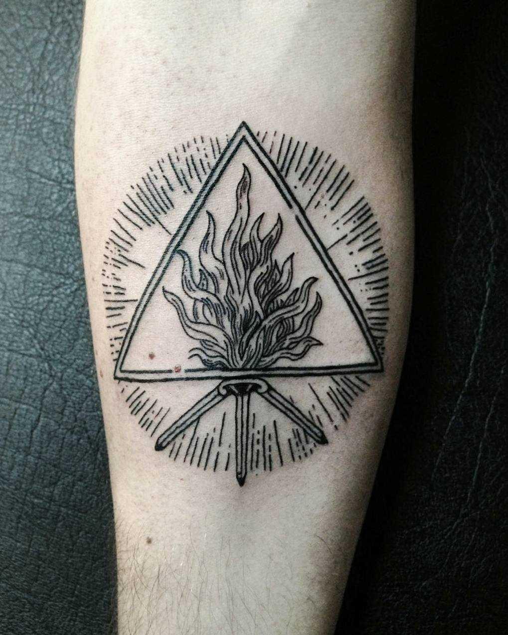 Speculum veritatis tattoo