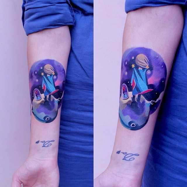 The little prince tattoo by sasha unisex
