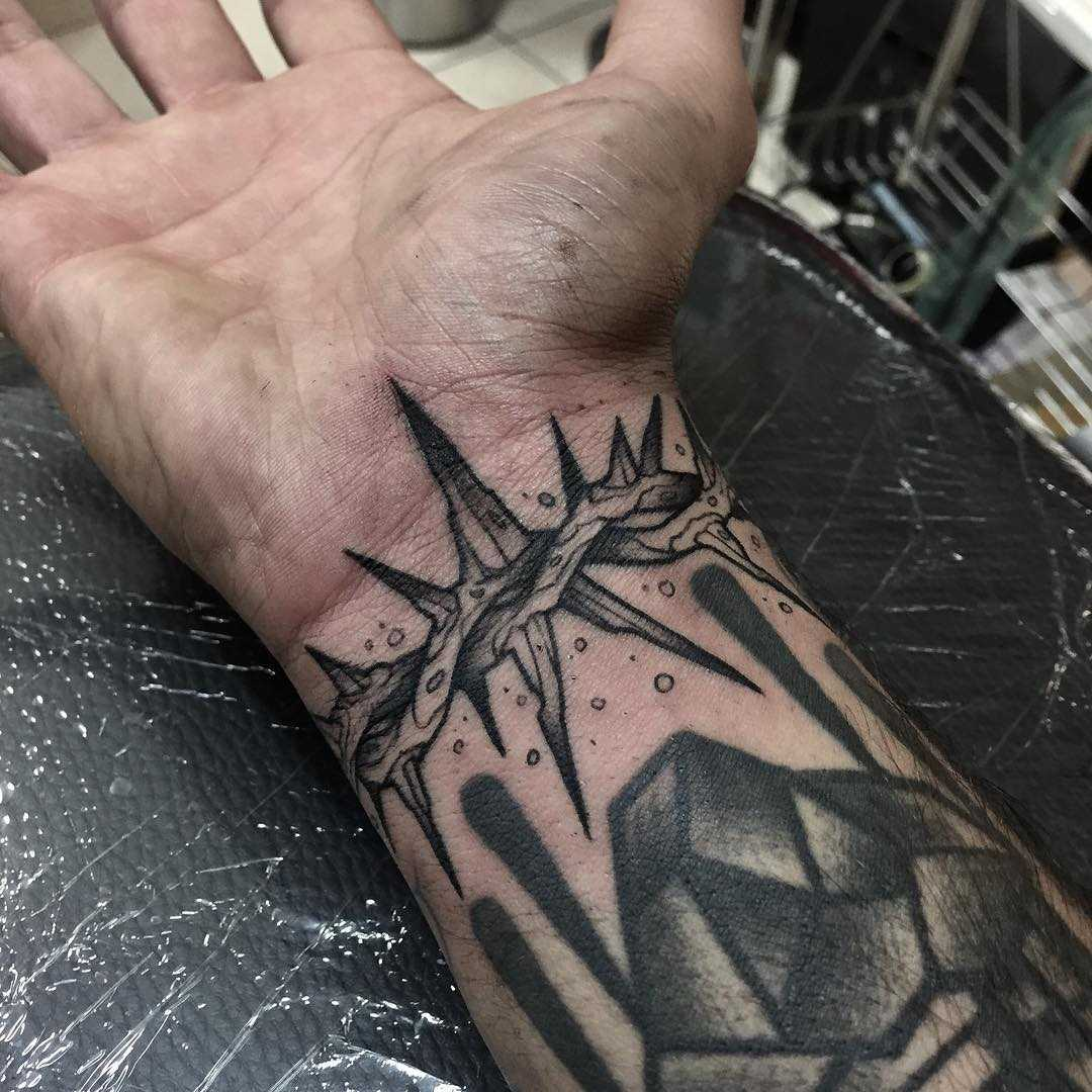 Thorns bracelet tattoo