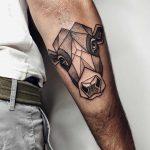 Angus cattle tattoo