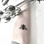 Bee tattoo by Yi
