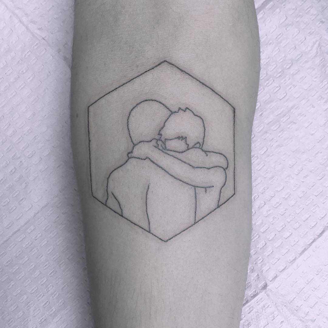 Bromance tattoo