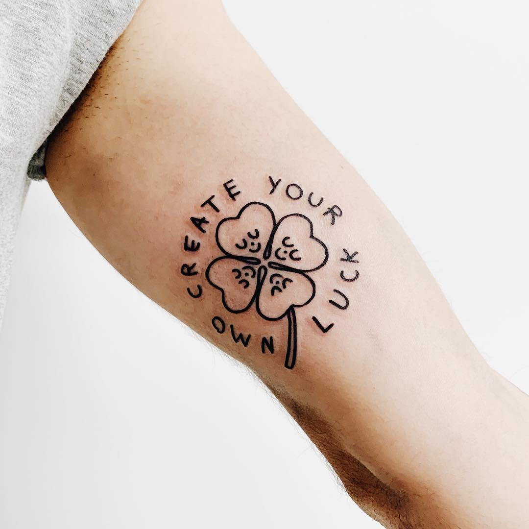 Create your own luck tattoo
