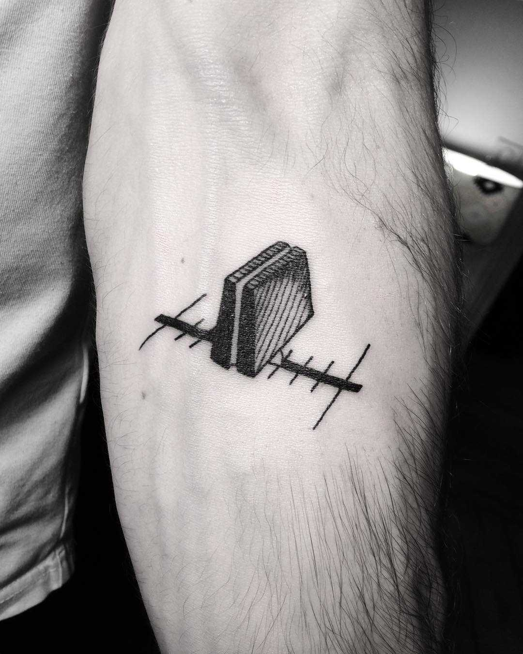 Crossfader tattoo