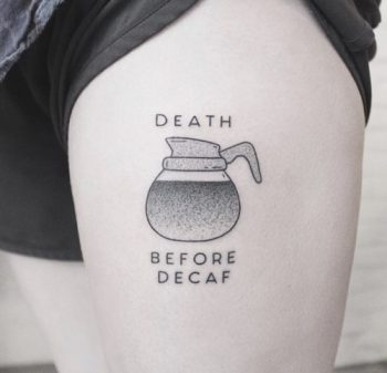 Death before decaf by Brandon Welfare Dentist