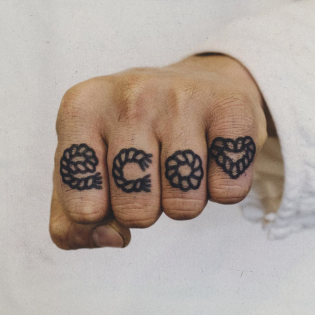 Eco love tattoo by Woo Tattooer