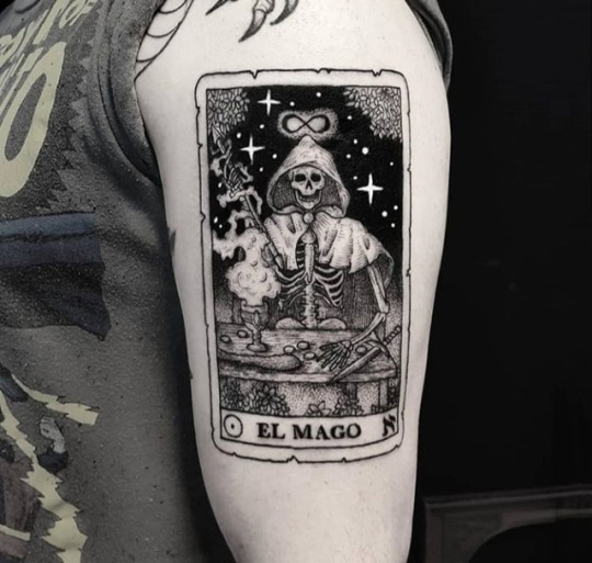 El mago tattoo