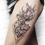 Forest inhabitants tattoo